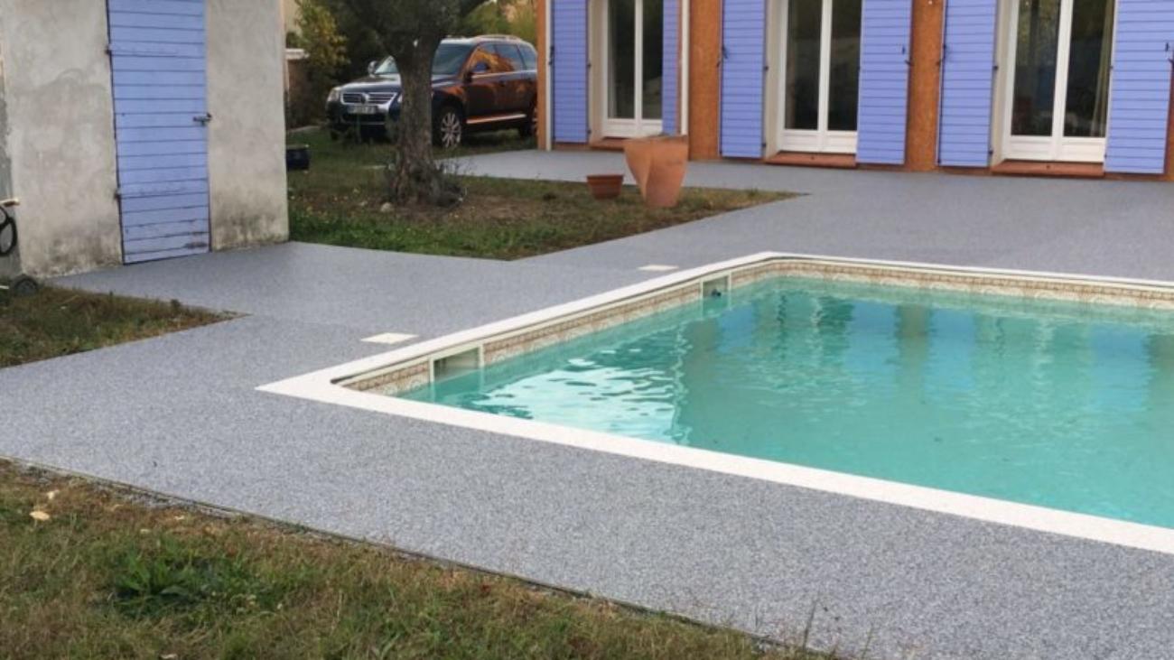 rénovation plage piscine