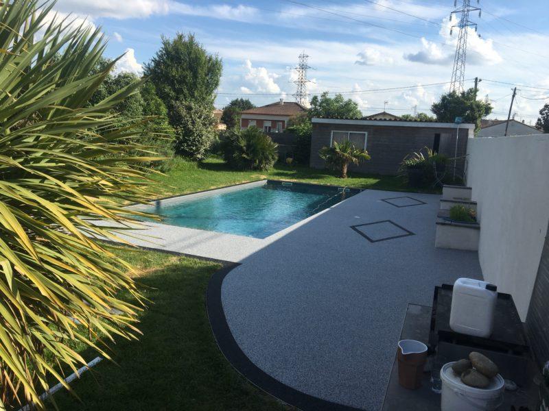 revêtement de sol extérieur piscine Toulouse