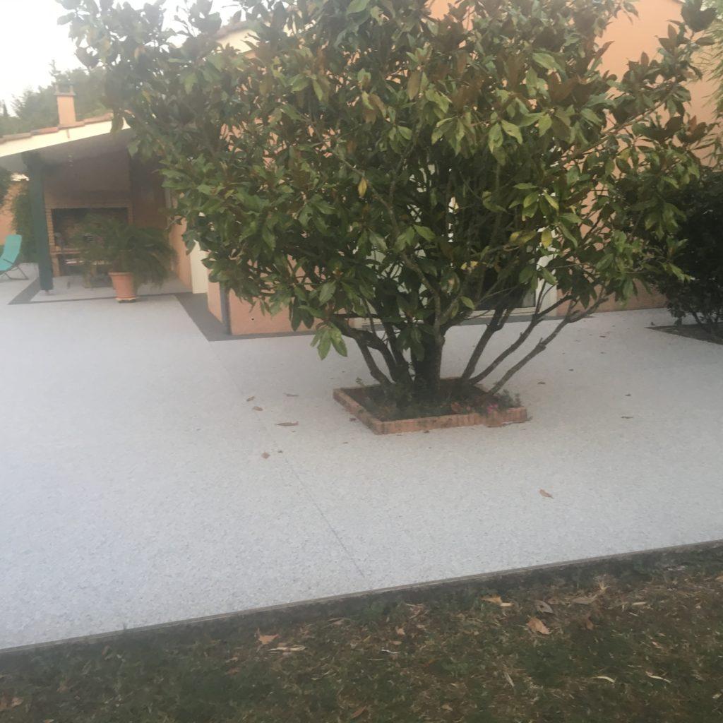 Revêtement sol extérieur maison